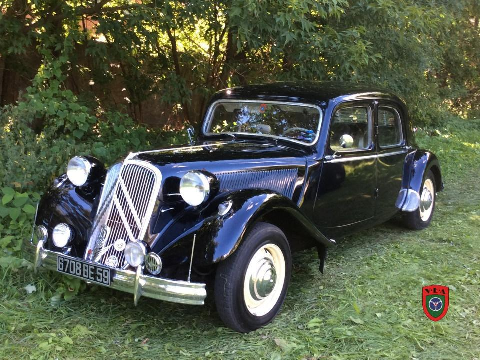 Citroën Traction 15/6H – 1955