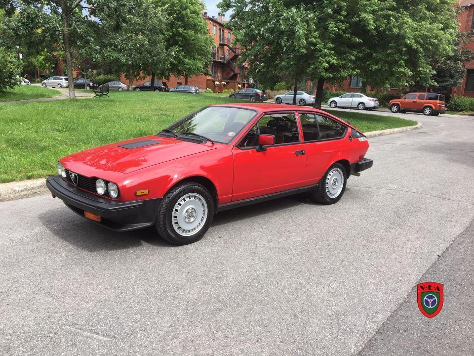 Alfa-Roméo GTV6 – 1983