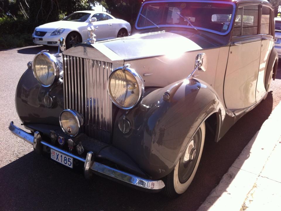 Rolls Royce Silver Wraith – 1948