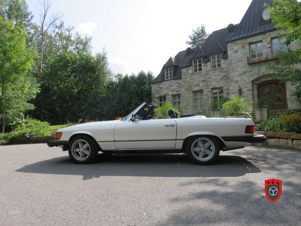 Mercedes-Benz 380SL – 1981