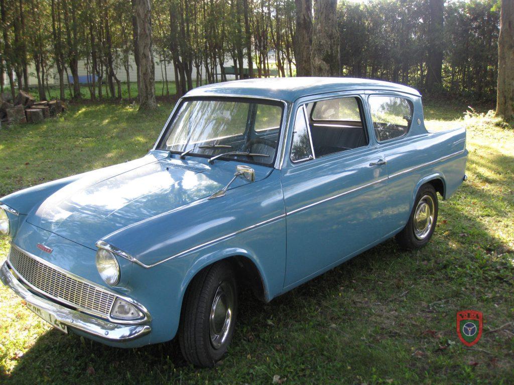 Ford Anglia 105e – 1962